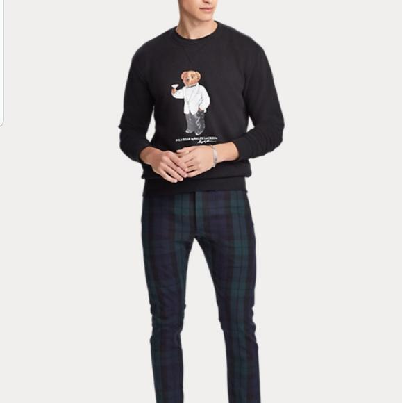 0fd6f5aa7324 HP Polo Ralph Lauren Martini Bear Sweatshirt